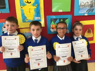 March Assembly Winners-Second Class