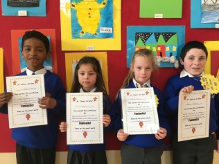 March Assembly Winners-First Class