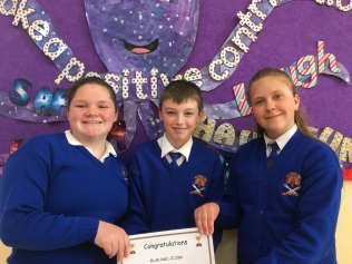 March Assembly Winners-Attendance Winners-5th Class