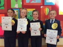 May Assembly 2nd Class winners