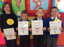 May Assembly 1st Class winners