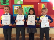 May Assembly Senior Infant winners
