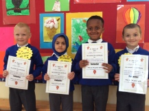 May Assembly Junior Infant winners