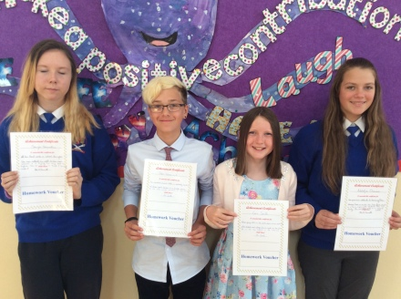 May Assembly 6th Class winners