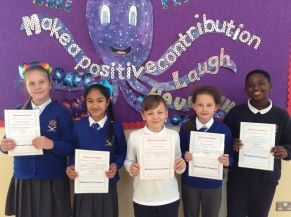 May Assembly 5th Class winners