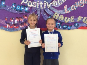 May Assembly 4th Class winners