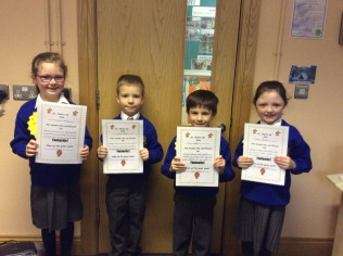 November Assembly Winners