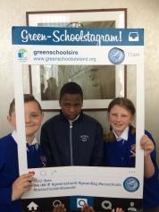 Green School's Water Flag