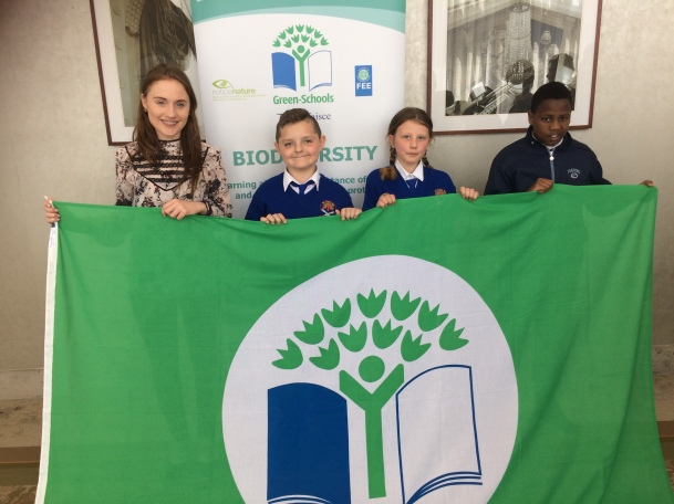 Green School's Water Flag