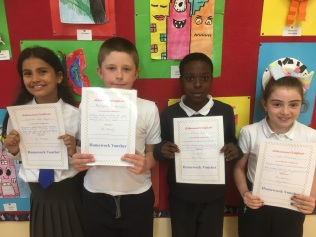 May Assembly Winners