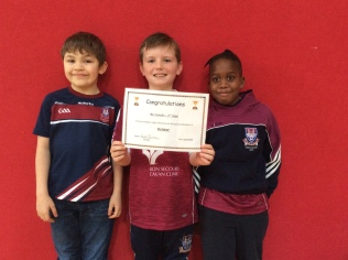 Attendance Winners October Assembly