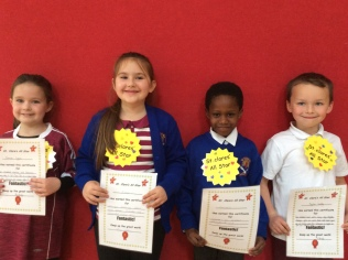 1st Class October Assembly winners
