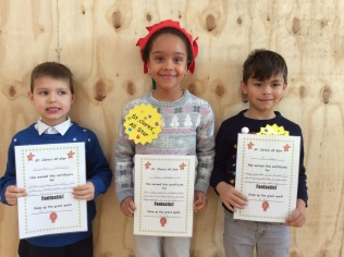 Assembly Winners December 1st Class