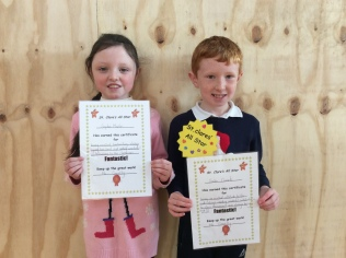 Assembly Winners December 2nd Class