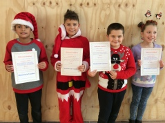 Assembly Winners December 4th Class