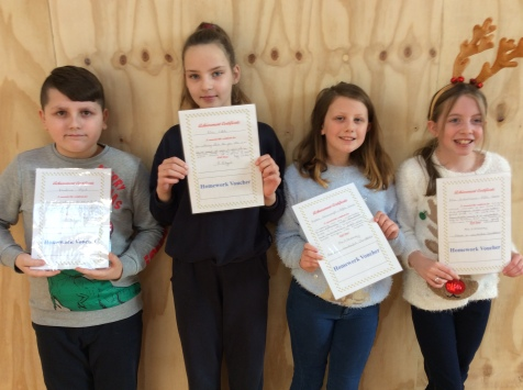 Assembly Winners December 5th Class