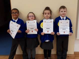 1st Class November Assembly Winners