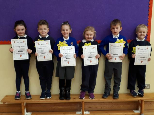 January Assembly Winners