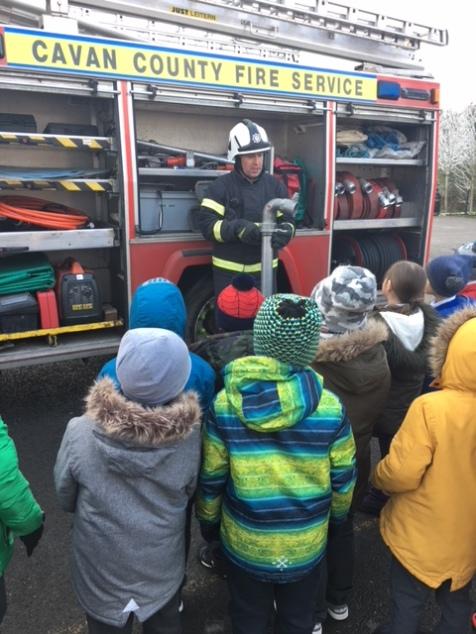 Fire Engine Visit