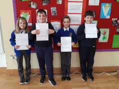 February Assembly Winners-3rd Class