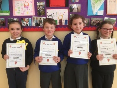February Assembly Winners- 1st Class