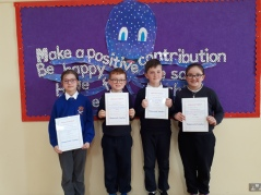 March Assembly Winners-3rd Class