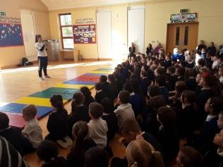 Caradh O Donovan visit assembly