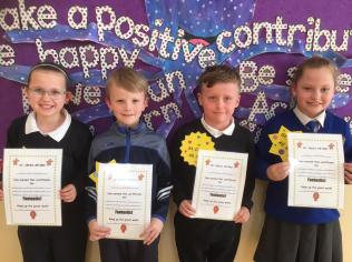 March Assembly Winners Second Class