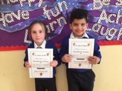 March Assembly Winners First Class