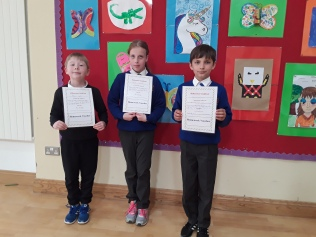 May Assembly Winners 3rd Class