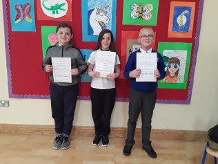 May Assembly winners 5th class