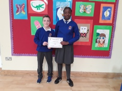 Best Attendance-May Assembly