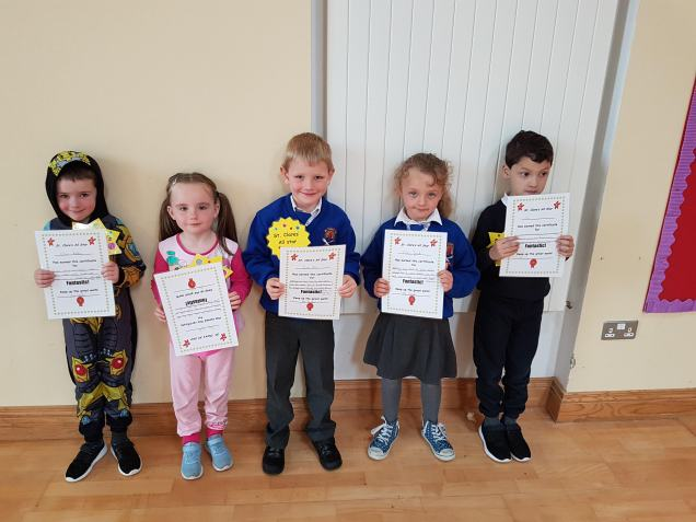 May Assembly Winner Junior Infants