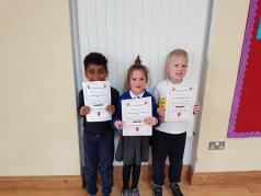 May Assembly Winners Senior Infants