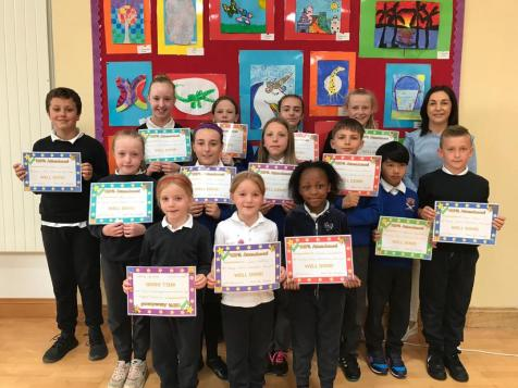 Best Attendance Winners 2018- 2019