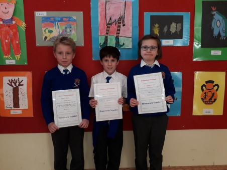 November Assembly Winners