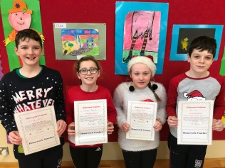 December Assembly Winners