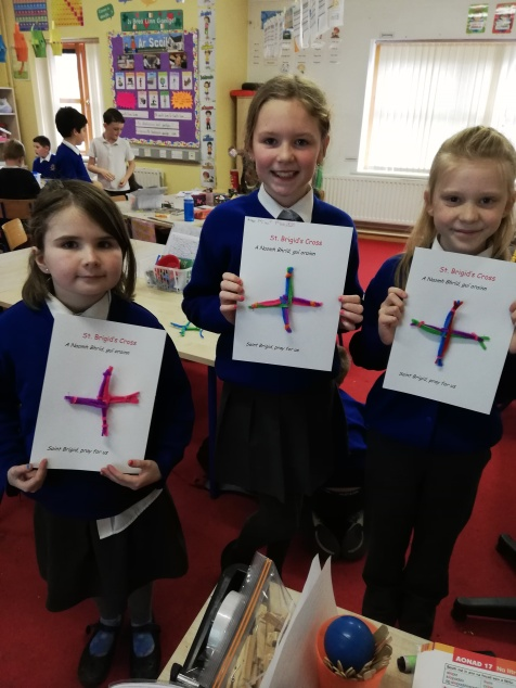 St. Brigid's Day Crosses