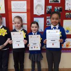 February Assembly Winners