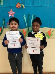 February Assembly Winners